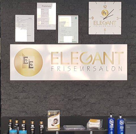 Elegant Friseur E&E Logo