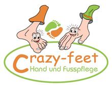 Crazy Feet Hand- und Fusspflege Logo