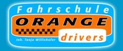 Fahrschule Orange Drivers Logo